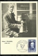ALBERT ROUSSEL . 22 MARS 1969 . TOURCOING . - FDC