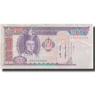 Billet, Mongolie, 100 Tugrik, 2000, 2000, KM:65a, TTB - Mongolie