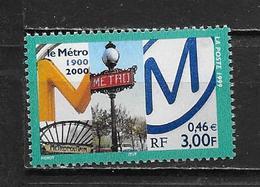Centenaire Du Métro. - Frankreich