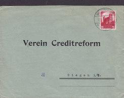 Germany Deutsches Reich BAD OYENHAUSEN 1934 Cover Brief VEREIN CREDITREFORM Siegen I. W. Nürnberger Parteitag - Deutschland