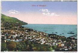 32047. Postal  FUNCHAL, Capital De MADEIRA  (Portugal)  Vista Poblacion - Madeira