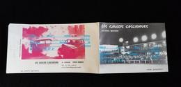 Pub HAMBYE Le Guislain LES GAULOIS CASCADEURS Auto Moto SIMCA 404 PEUGEOT  50 BREVILLE / MER Gilbert LECLERC LA BRISE - Voitures
