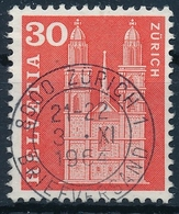 360 / 701 Mit Passendem Kronen-Vollstempel ZÜRICH Briefversand - Suisse