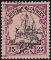 Deutsch  Ost-Afrika    .     Michel  17       .       O     .      Gebraucht - Kolonie: Deutsch-Ostafrika