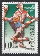 Handball - Additional Charity Stamp - 2001 Montenegro (Yugoslavia) - MNH - Hand-Ball