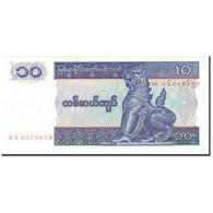 Billet, Myanmar, 10 Kyats, KM:71b, NEUF - Myanmar