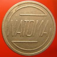 KB306-1 - NATOMA Ned. Automaten Mij - Den Haag - WM 22.5mm - Koffie Machine Penning - Coffee Machine Token - Professionnels/De Société