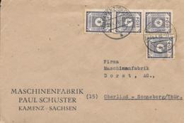 SBZ Beleg MeF 1946 Kamenz-Oberlind - Sowjetische Zone (SBZ)