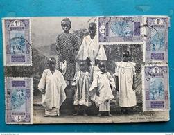 CPA - GUINEE FRANCAISE - CONAKRY - Petites Filles Soussons - Guinée Française