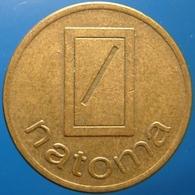KB306-2 - NATOMA Ned. Automaten Mij - Den Haag - B 20.0mm - Koffie Machine Penning - Coffee Machine Token - Professionals/Firms