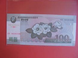 COREE(NORD) 100 WON 2008 PEU CIRCULER/NEUF - Korea (Nord-)