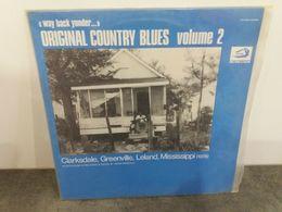 """Way Back Yonder..."" Original Country Blues Volume 2 - Albatros VPA 84599 - 1979  Vinyl LP Original Italie - Country Et Folk"