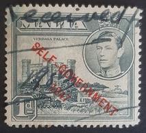 "1948, King George Vl And Local Motives, Overprinted ""Self-Government-1947"", Malta - Malte"