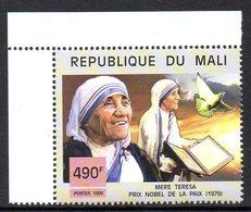 Mali 1462 Mère Teresa, Prix Nobel De La Paix - Mère Teresa