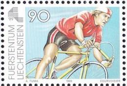 1999 LIECHTENSTEIN   ** MNH Vélo Cycliste Cyclisme Bicycle Cycling Fahrrad Radfahrer Bicicleta Ciclista Ciclismo [au50] - Cyclisme