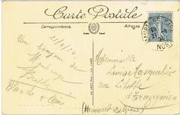 161 SEUL SUR CPA DESTINATION BELGIQUE - 1921-1960: Période Moderne
