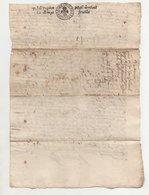 Ardèche Arlebosc 1676 - Cachets Généralité