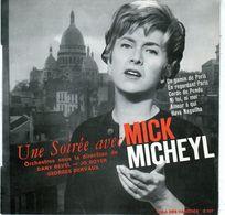 Disque 45 Tours De Mick Micheyl - Un Gamin De Paris - Vargal G. 107 - 1961 - Vinyles
