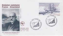 Enveloppe  FDC  1er  Jour   GROENLAND   Emission  Commune  Avec   La   FRANCE   2007 - FDC