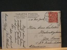 83/898     CP MEXICO POUR ALLEMAGNE  1909 - Mexiko