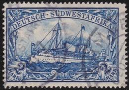 Deutsch  SudWest-Afrika    .     Michel  30   ( 2 Scans )    .       O     .      Gebraucht - Kolonie: Deutsch-Südwestafrika