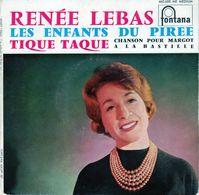 Disque 45 Tours De Renée Lebas - Les Enfants Du Pirée - Fontana 460.688 ME - 1959 - Vinyles
