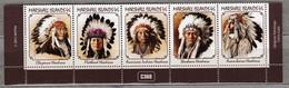 MARSHALL ISLANDS 2013 American Indians MNH(**) Mi 3102-3106 #24141 - Marshall