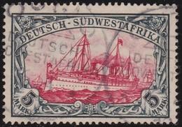 Deutsch  SudWest-Afrika    .     Michel  32   ( 2 Scans )    .       O     .      Gebraucht - Kolonie: Deutsch-Südwestafrika