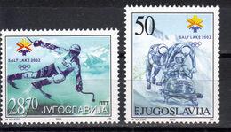 Yugoslavia,WOG-Salt Lake City '02 2002.,MNH - Ongebruikt