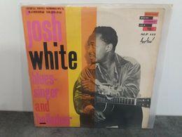 Josh White - Blues Singer And Halladeer - Storyville SLP 123 Festival - 1962  Vinyl LP  Original Français - Blues