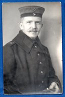 Carte Photo  -    Soldat Allemand    - Cachet Schwenningen - War 1914-18