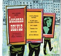 Disque 45 Tours De Lucienne Delyle - C'est La Chanson De Paris - Vargal G. 311 - 1962 - - Vinyles