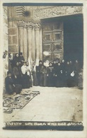 JERUSALEM - CHURCH OF THE HOLY SEPULCHRE ~ AN OLD REAL PHOTO POSTCARD #85847 - Israel