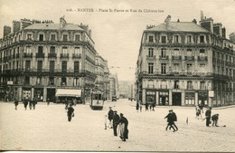 44-Nantes - 116, Place St-Pierre Et Rue De Châteaudun - Nantes