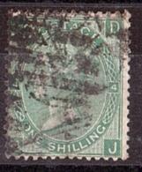 GB - 1867/69 - N° 37 - Pl 4 - Victoria - JD-DJ - Used Stamps