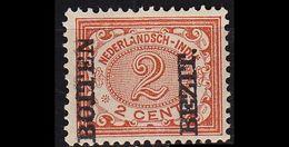 NIEDERLANDE NETHERLANDS Indien [1908] MiNr 0081 ( */mh ) - Niederländisch-Indien