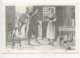 """Ackerman Laurance (Saumur) Publicité """"A Votre Santé Avec Ackerman Laurance"""" Saint Hilaire Saint Florent - Cp Vierge - Vignes"""
