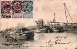 Belgique - Bruxelles - Travaux Maritimes - Transport (sea) - Harbour