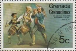 USED STAMPS Grenada-Grenadines - The 200th Anniversary Of American Revolu -1975 - Grenade (1974-...)