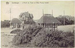 DUINBERGEN -L' Arrêt Du Tram Et Villa Poncy Home - N° 1752 Héliotypie De Graeve - Knokke