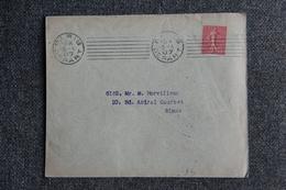Timbre Sur Lettre , PARIS ( Banque CH.VICTOR Et Cie ) - 1907 - Lettres & Documents