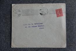 Timbre Sur Lettre , PARIS ( Banque CH.VICTOR Et Cie ) - 1906 - Lettres & Documents