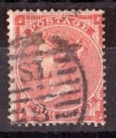GB - 1862 - N° 25 - Pl 4 - Victoria - JF-FJ - 1840-1901 (Victoria)