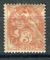 FRANCE ( POSTE ) Y&T  N°  109 , TIMBRE  NEUF  SANS  TRACE  DE  CHARNIERE  . - 1900-29 Blanc