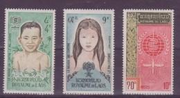 Laos N°79-80-81** 82 à 85**neuf Sans Charniere - Laos