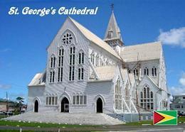 AK Guyana Georgetown St. George's Cathedral New Postcard - Ansichtskarten