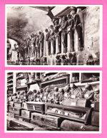 E-Italie-469D01  PALERMO (2 Cartes) Catacombe Dei Cappuccini, BE - Palermo