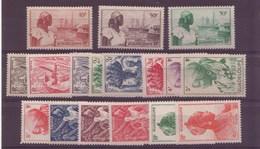 Guadeloupe N°197 à 213** - Ungebraucht
