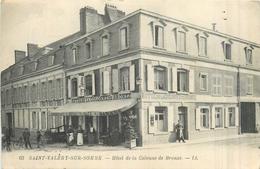 80 SAINT VALERY SUR SOMME   Romerel Hôtel De La Colonne De Bronze   2scans - Saint Valery Sur Somme