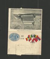 """Carte En FM """"automobiles Industriels LATIL Suresnes """" - Marcophilie (Lettres)"""